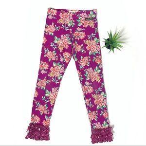 Matilda Jane Floral Ruffle Leggings 438